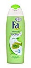 Fa - Gel de ducha Yoghurt Aloe Vera - Con leche de Aloe Vera y Proteína de Yoghurt - 5 uds de 550ml