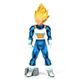 Banpresto 25960 – Super Master Star Piece Dragon Ball Z The Vegeta Estatua, 30 cm