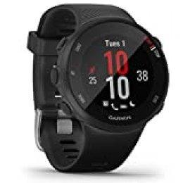 Garmin Forerunner 45S Reloj GPS de Running, Unisex-Adultos, Negro, S