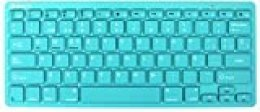 Teclado Wireless Turquesa