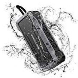 POWERADD Altavoz Sonido Potente de 36W, Altavoz Bluetooth Portátil de Impermeable IPX7, Antigolpes, Resisdente a Arena, con Aux Cable.