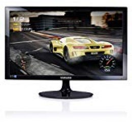 "Samsung S24D330H - Monitor de 24""(1920 x 1080 pixeles, LED, Full HD, 1000:1), color negro"