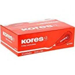 Kores Caja Cinta Correctora 5mmx6M Kores 16 Unidades