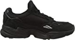 Adidas Falcon W - Zapatillas de Deporte para Mujer, Negro (Negbás/Gricin) 36 1/3 EU