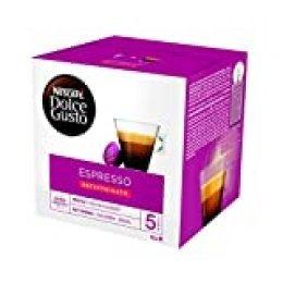 Nescafé Dolce Gusto - Espresso Descafeinado - 3 Paquetes de 16 Cápsulas - Total: 48 Cápsulas