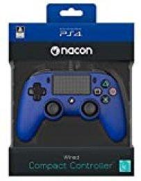 Nacon - Mando Compacto para PS4, color Azul