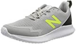New Balance Ryval Run, Zapatillas para Correr de Carretera para Hombre, Gris (Grey/Yellow Lc1), 40.5 EU