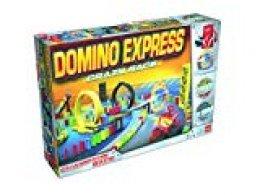 Dominó Express- Crazy Race, Multicolor (Goliath 81008)