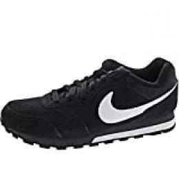 Nike Md Runner 2 - Zapatillas de correr para Hombre, Negro (Negro/Blanco/Gris oscuro), 43