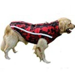 BT Bear Abrigo para Perros cálido, Ropa de Invierno para Perro, Suave, Ligero, Impermeable, Acolchado, para Perros pequeños, medianos, Grandes