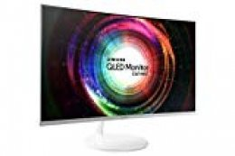 "Samsung C27H711 27"" Wide Quad HD VA Monitor para PC - (300 cd/m², 2560 x 1440 Pixeles, 4 ms, LED, Wide Quad HD), Color blanco"