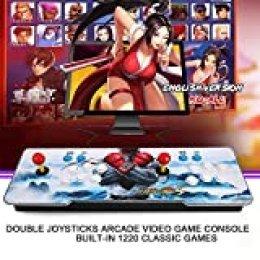 Goolsky Pandoras Box Arcade Video Game Machine Joystick Doble Arcade con 1220 Juegos clásicos en el Interior