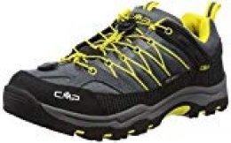 CMP Rigel - zapatillas de trekking y senderismo de media caña Niños , color Gris, talla 29