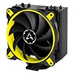 ARCTIC Freezer 33 eSports ONE - Ventilador para Caja de Ordenador I con Ventilador Bionix de 120 mm I 200 a 1800 RPM I Muy silencioso - Amarillo