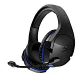 HyperX HX-HSCSW-BK CloudX Stinger Wireless - Cascos de Gaming para PS4