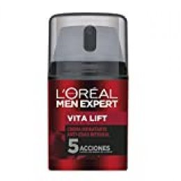 L'Oréal Paris Men Expert - Integral Vita Lift hidratante diario anti-edad, 50 ml
