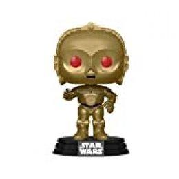 Funko- Pop Chrome Skywalker-C-3PO Star Wars The Rise of Skywalker C-3PO Figura Coleccionable, Multicolor, Estándar (48222)