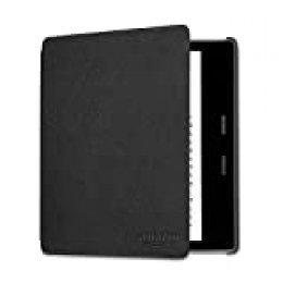 Funda de cuero para Kindle Oasis , negro — únicamente compatible con el modelo de la 9.ª generación (modeli de 2017) y 10.ª  generación (modelo de 2019)