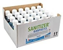 TIFON Sanitizer Gel Hidroalcohólico Caja de 30 Botellas 100 ml