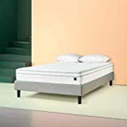 Zinus - Menta, colchón viscoelástico de 135x190x25cm