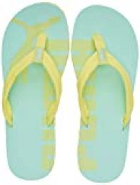 PUMA Epic Flip V2, Zapatos de Playa y Piscina Unisex Adulto, Verde (Sunny Lime/Mist Green 39), 49.5 EU