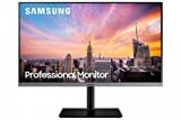 Samsung S24R652 - Monitor profesional de 24'' FullHD (1920x1080, LED, 16:9, 75Hz, 5 ms, 1000:1, 250 cd/m², Eye Saver, D-Sub, DisplayPort, HDMI, USB 3.0, USB 2.0) Gris oscuro