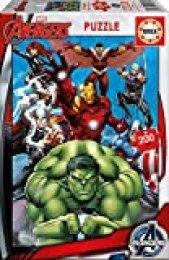 Educa - Avengers, Puzzle infantil de 200 piezas, a partir de 6 años (15933)