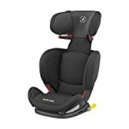 Maxi-Cosi RodiFix AirProtect Silla coche grupo 2/3 isofix, 15 - 36 kg, silla auto reclinable, crece con el niño 3.5 - 12 años, color authentic black