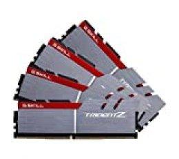 G.Skill F4-3200C16Q-32GTZB - Módulos de Memoria, Color Gris