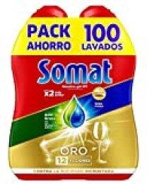 Somat Oro Gel Lavavajillas Antigrasa - 100 Lavados, 1.8 l