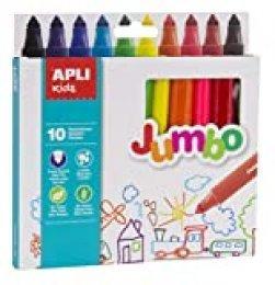 APLI Kids 16804 - Rotuladores Jumbo 10 u.