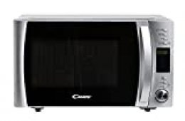 Candy CMXG25DCS Microondas con Grill y Cook in App, Capacidad 25L, 40 programas automáticos, 5 Niveles, Plato Giratorio 31.5 cm, Potencia 900 W / 1000 W, Color, 25 litros