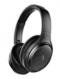 TaoTronics Auriculares Inalambricos Bluetooth 5.0 Cascos ANC Cancelación Activa De Ruido Tiempo De Reproducción De 35H Micrófono Integrado Sonido Estéreo De Alta Fidelidad Carga Rápida