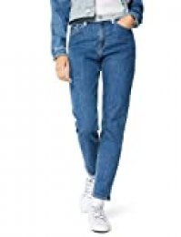 Tommy Jeans Mujer Izzy High Rise Slim Ankle Slim Jeans, Azul (TJ DENIM COLORBLOCK 1A4), W32/L32