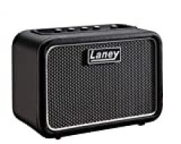 Laney Mini-ST - Battery Powered Stereo Guitar Amp With Smartphone Interface - 6 W - Supergroup Edition, Negro