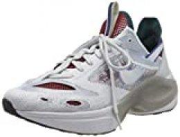Nike N110 D/MS/X, Zapatillas para Correr para Hombre, Pure Platinum Rush Violet Midnight Turq, 40.5 EU