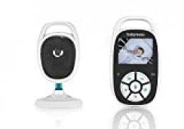 """Babymoov YOO See Vigilabebé con Cámara - Pantalla LCD de Color de 2.4"""" - Visión Nocturna - Kit de Pared - Alcance 250 m - Seguridad bebe"""