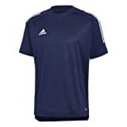 adidas CON20 TR JSY Camiseta de Manga Corta, Hombre, Team Navy Blue/White, XL