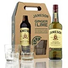 Jameson Irish Whisky with 2 Glasses - 1 Pack
