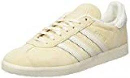 adidas Gazelle, Zapatillas de Gimnasio para Hombre, Ecru Tint S18/Chalk White/FTWR White, 42 2/3 EU