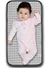 Cambiador portátil para bolsa de pañales, cambiador portátil para pañales, cambiador de pañales, estación de viaje para pañales, kit de cuidado de pañales impermeable, alfombrilla para pañales para bebés y recién nacidos