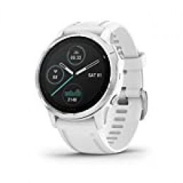 Garmin fēnix 6S - Reloj GPS multideporte definitivo con sensores, VO2 Max,frecuencia cardíaca, carga de entrenamiento, Blanco