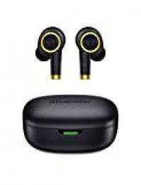 Auriculares Bluetooth, Bluedio P(Particle) Auriculares Inalámbricos Bluetooth 5.0 Mini Twins Estéreo In-Ear con Caja de Carga Portátil, Auriculares Manos Libres para iOS/Android/Deportivos/Trabajo