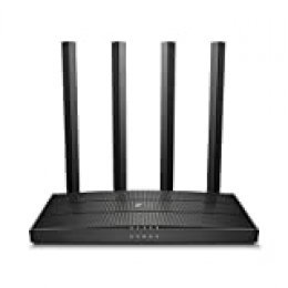 [New] TP-Link AC1900 - Router inalámbrico Doble Banda (2,4 GHz / 5 GHz),WiFi MU-MIMO, 4xGigabit LAN Ports /1xWAN Port, Tecnología Beamforming, Smart Connect, Control Parental (Archer C80)
