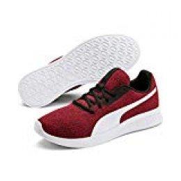 PUMA Modern Runner Low Boot Sneaker Sportschuhe Ribbon Rot-Weiss