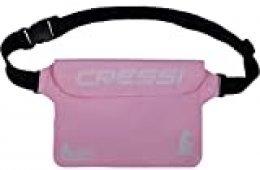Cressi Kangaroo Dry Pouch Bolsa Impermeable para Teléfono móvil y para Objetos, Rosa Claro, Talla Única