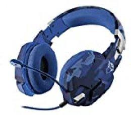 Trust Gaming GXT 322B Carus Auriculares para Juegos - Azul