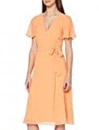 ESPRIT Collection Fluent Vestido de cóctel, Naranja, 36 para Mujer