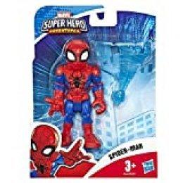 Hasbro Playskool E6260ES0 Heroes Marvel Super Hero Adventures - Figura de Spider-Man (12,5 cm), Multicolor
