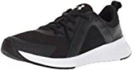 Under Armour Tempo Trainer, Zapatillas de Deporte para Mujer, Negro (Black/White), 38 EU